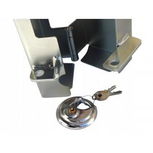 Zabezpieczenie blokada zaczepu przyczepy hak zaczep A629
