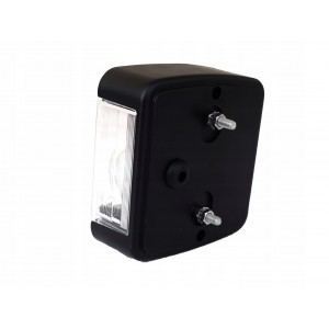 Lampa lampka tylna zespolona z oświetleniem tablicy do przyczepki lawety A0689