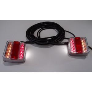 ZESTAW LAMP LEDOWYCH LED  DO PRZYCZEP A0288