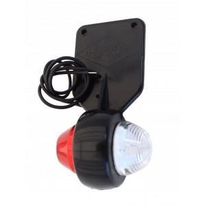 LED Lampa Obrysowa Wisząca Biało /Czerwona laweta A710