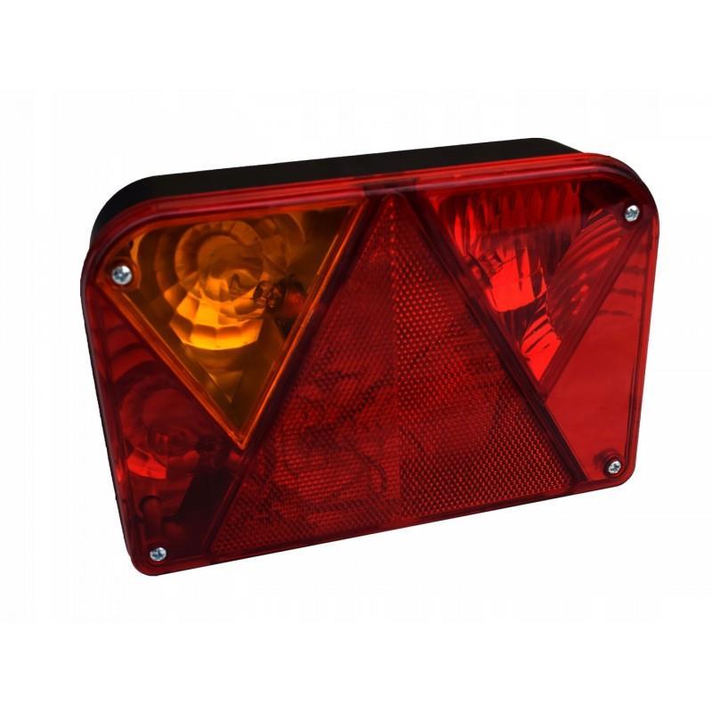 Lampa tylna zespolona TEMA przyczepki lampa LEWA (DPT 35) A0403