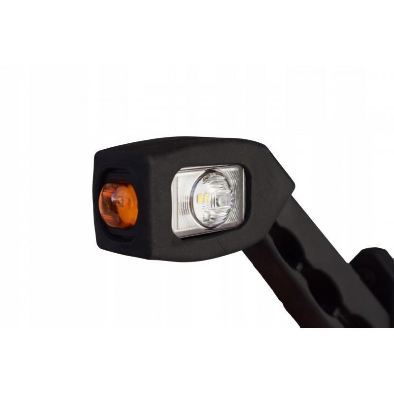 Lampa obrysowa obrysówka TYŁ LED B/CZ/L LAMPY LEDY LEWA  (LD 518/L)  A0614