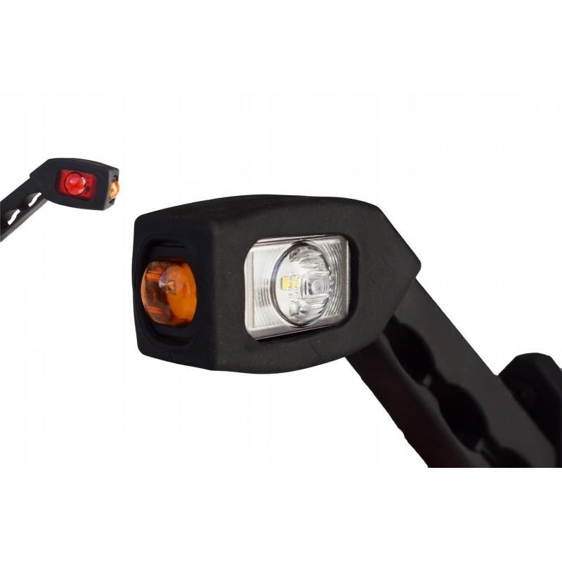 Lampa obrysowa obrysówka TYŁ LED B/CZ/P LAMPY LEDY Prawa (LD 518/P) A0773