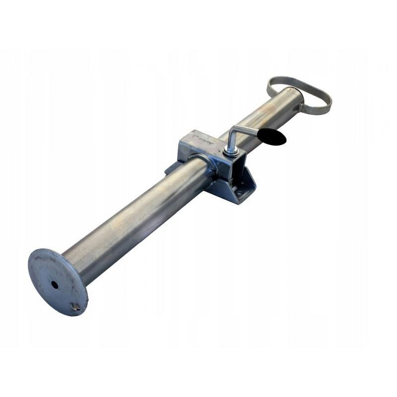 Podpora stała przyczepy z obejmą fi48 60cm podpory DO PRZYCZEPY LAWETY A0377