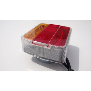 ZESTAW LAMP LED NA MAGNES PRZYCZEPY-LAWETY 7,5M A0791