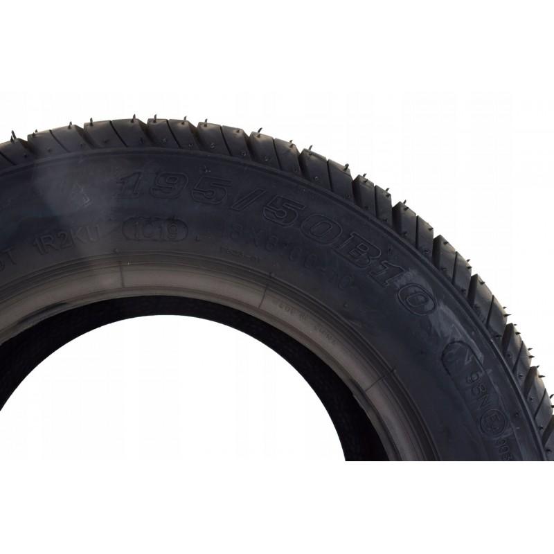 Opona 195/50/R10 wzmacniana przyczep lawet 750kg A0805