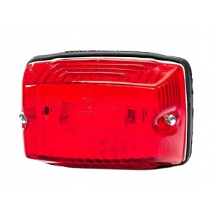 Obrysówka lampa obrysowa lampka czerwona FT006 FT-006 C Lampa obrysowa prostokątna czerwona A0870