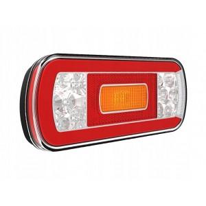 LAMPA HERMETYCZNA LEDOWA LAWETY 12/36V DIODOWA 6F Lampa tylna uniwersalna LED 12-36V,...