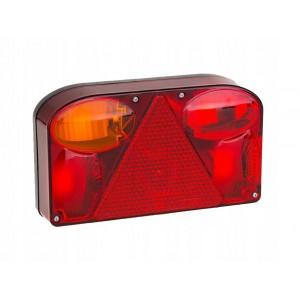 LAMPA PRZYCZEPY LAMPY FT-088 LPM Lampa tylna,  lewa z trójkątem odblaskowym i światłem przeciwmgłowym A0145