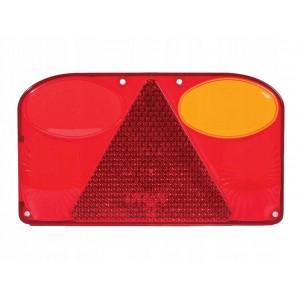 Klosz lampy FT-088 KPPM ,prawy z trójkątem odblaskowym i światłem przeciwmgłowym. A0899