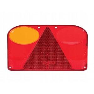 Klosz lampy  FT-088 KLPM  , lewy z trójkątem odblaskowym i światłem przeciwmgłowym...