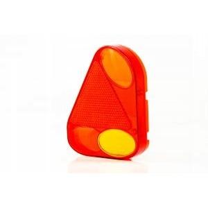 Klosz FT-077 KLPM  lampy tylnej narożnej lewej z trójkątem odblaskowymi i światłem...