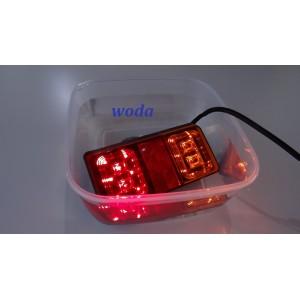 LAMPA ZESPOLONA DIODOWA PRZYCZEPY LAWETY LAMPY LED A0181