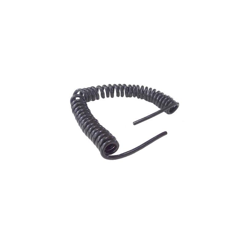 PRZEWÓD SPIRALNY 6,5m 7 żył kabel PRZEDŁUŻKA Rozciągliwa A0276