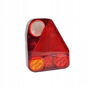 Lampa prawa tylna części przyczepy z trójkątem Lampa zespolona z trójkątem odblaskowym...