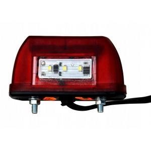 Oświetlenie LED tablicy rejestracyjnej z pozycją część do przyczepy lawety A156