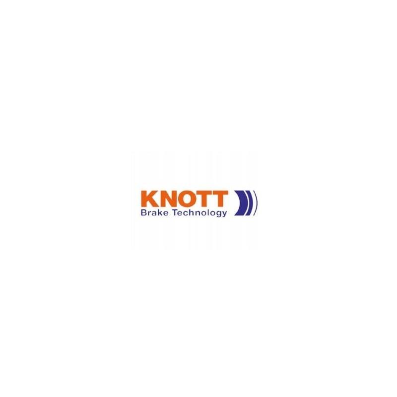 Dźwignia Hamulca Ręcznego KNOTT KF13/20/27 z Linką przyczepy lawety A0323