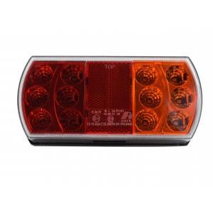 Lampa tylna zespolona LED HERMETYCZNA 12-24V przyczepa laweta A364