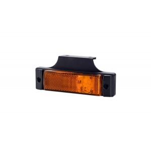 Lampa obrysowa boczna z wieszakiem LD128 LED LAMPA OBRYSOWA POMARAŃCZOWA BOCZNA LAWETY...