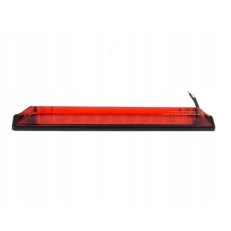 Lampa obrysowa stop czerwona DIODOWA LED 12/24V A702