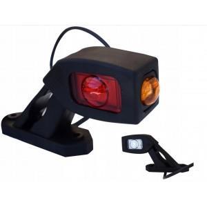 lampa lampka obrysowa na błotnik led 12/24V potrójna A484