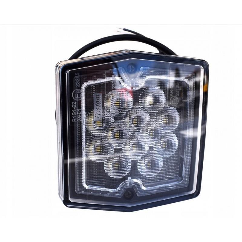 LAMPA TYLNA LED COFANIA BIAŁA 12V E9 przyczepa A517