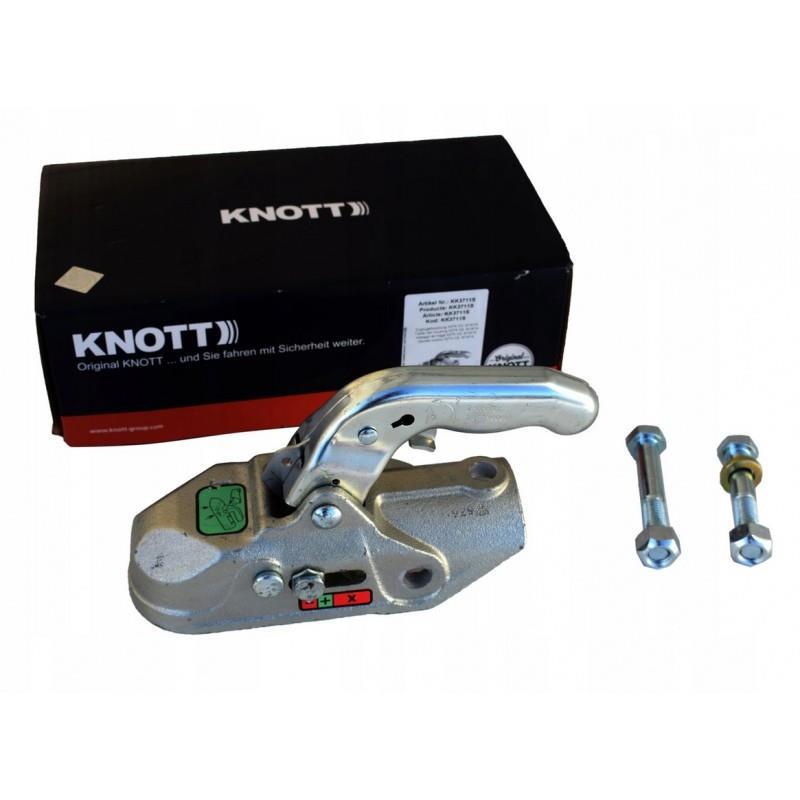 Zaczep kulowy przyczepy KNOTT K27-A 2700kg rura 50 A533
