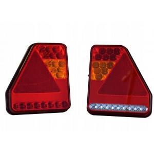 Lampa tylna LED przyczepki przyczepy LAWETY RYDWAN A0536