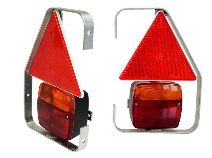 LAMPA OŚWIETLENIE Z UCHWYTEM DO PRZYCZEP A260