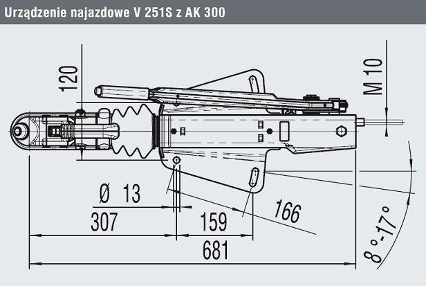 Urządzenie najazdowe 251G