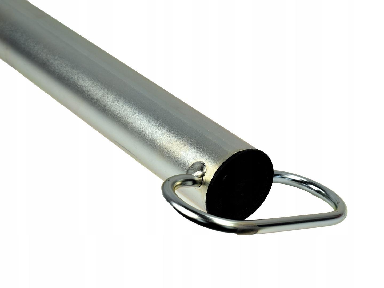 Podpora stała przyczepy z obejmą fi48 60cm